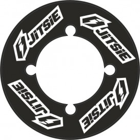 Autocollant de Couronne JITSIE Noir 46Dents Trial Box