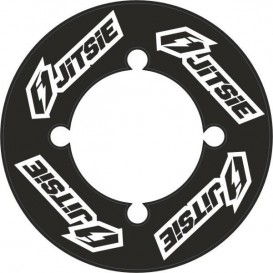 Autocollant de Couronne JITSIE Noir 48Dents Trial Box