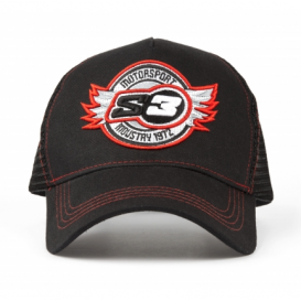 Casquette S3 Trucker Rouge Trial Box