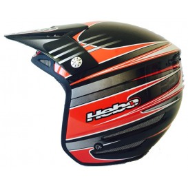 Casque HEBO T-Zero Rouge Trial Box