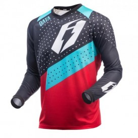 Maillot JITSIE Data Rouge/Turquoise Trial Box