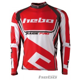Maillot HEBO Race Pro II Rouge Trial Box