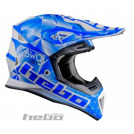 Casque HEBO Sway Fibre Bleu Trial Box