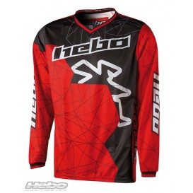 Maillot HEBO Sway Rouge Trial Box