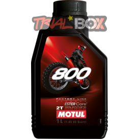 800 2T FACTORY LINE Off Road MOTUL Trial Box