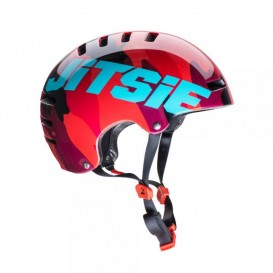 Casque JITSIE Armor Squad Rouge/Turquoise Trial Box
