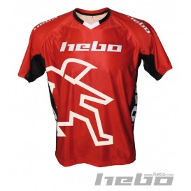 Maillot HEBO AM Replica Rouge Trial Box