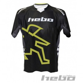 Maillot HEBO AM Replica Noir Trial Box