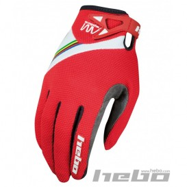 Gants HEBO AM Replica Rouges Trial Box