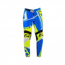 Pantalon MOTS Step 4 Bleu/Fluo Trial Box