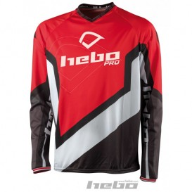 Maillot HEBO Pro 18 Rouge Trial Box