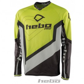 Maillot HEBO Pro 18 Jaune Fluo Trial Box