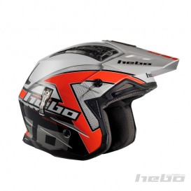 Casque HEBO Zone 4 Kontrox Rouge Trial Box